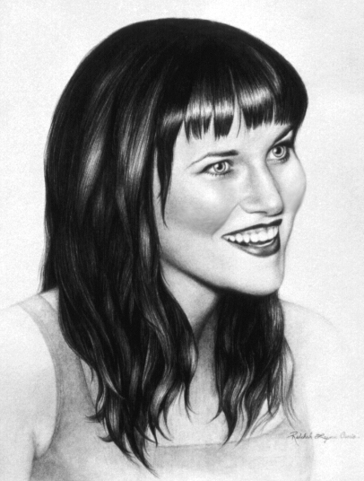 Lucy Lawless by rebekahlynn